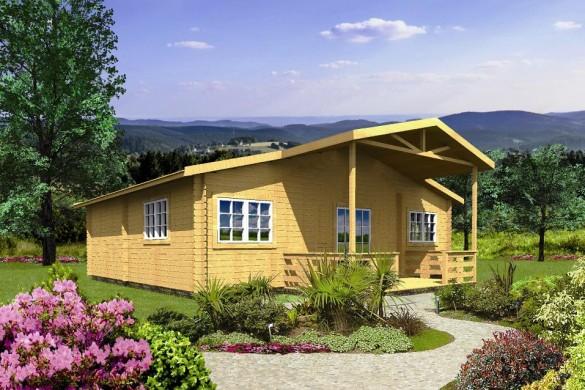 Domy całoroczne z drewna, domy całoroczne z bali – WARTO!